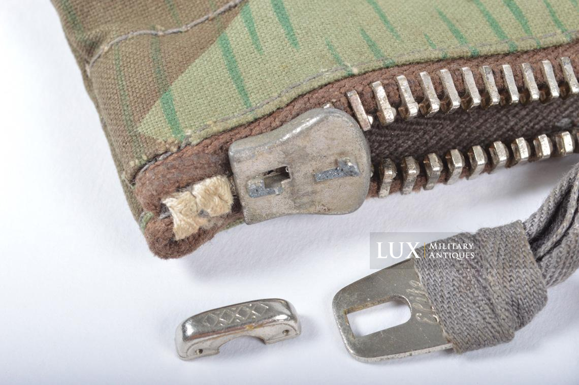 German paratrooper splinter camouflage grenade bag set - photo 36
