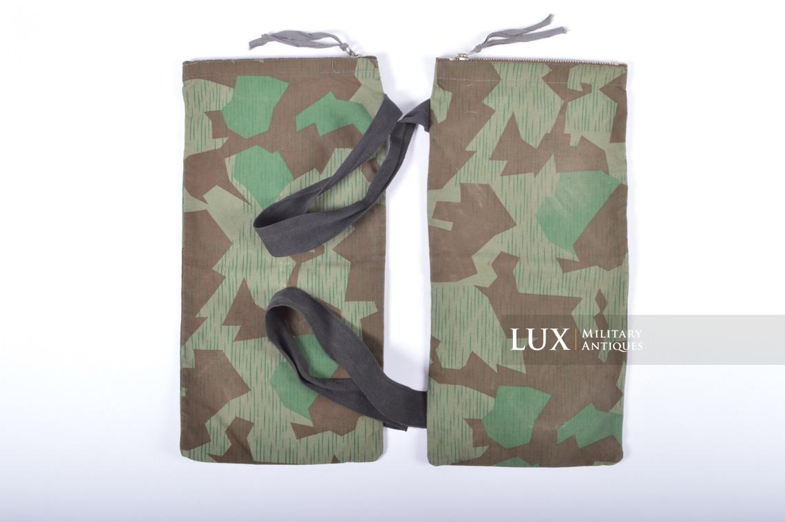 German paratrooper splinter camouflage grenade bag set - photo 4