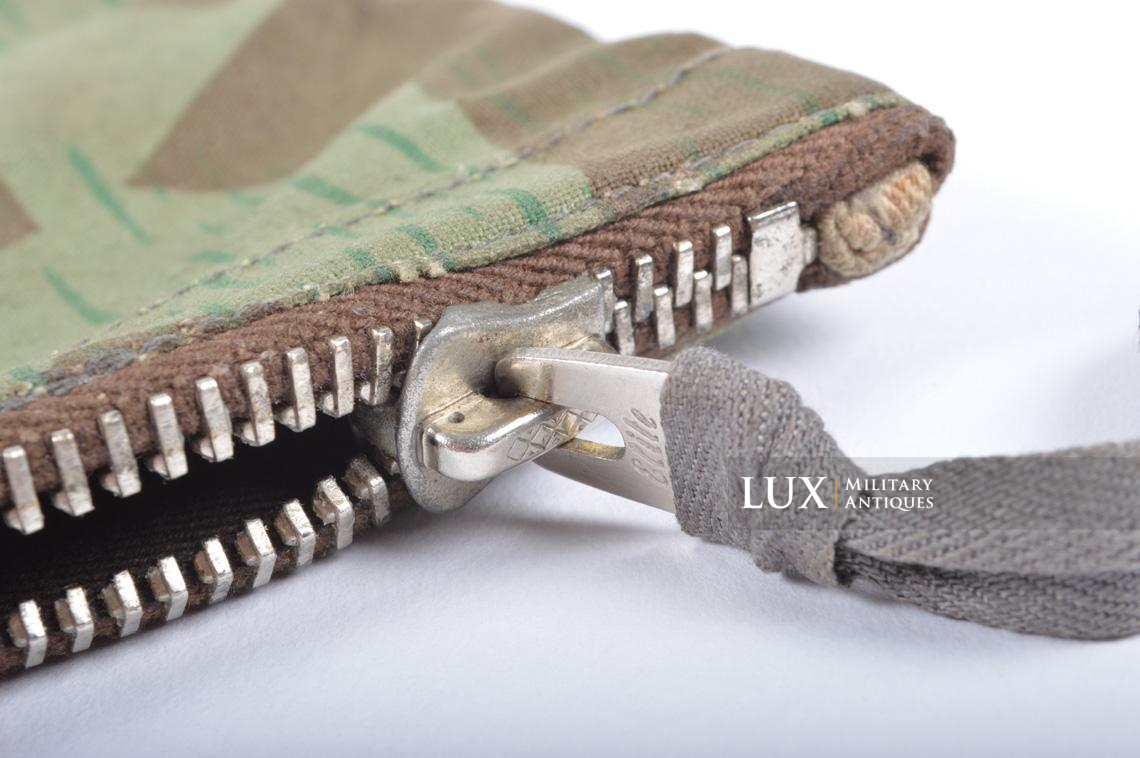 German paratrooper splinter camouflage grenade bag set - photo 19