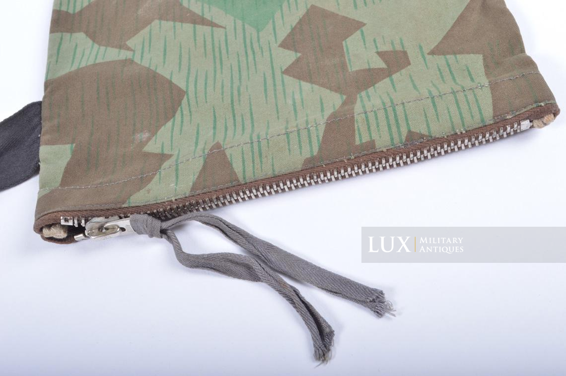German paratrooper splinter camouflage grenade bag set - photo 24