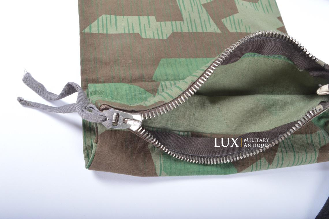 German paratrooper splinter camouflage grenade bag set - photo 26