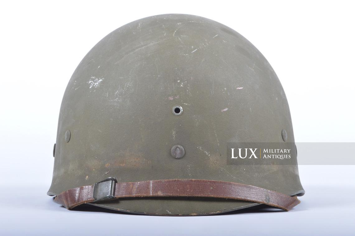 USM1 5th Infantry Division sawdust camouflage helmet set - photo 47