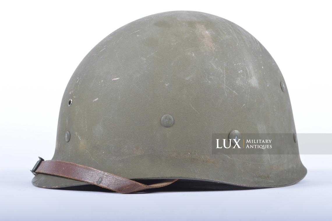 USM1 5th Infantry Division sawdust camouflage helmet set - photo 48