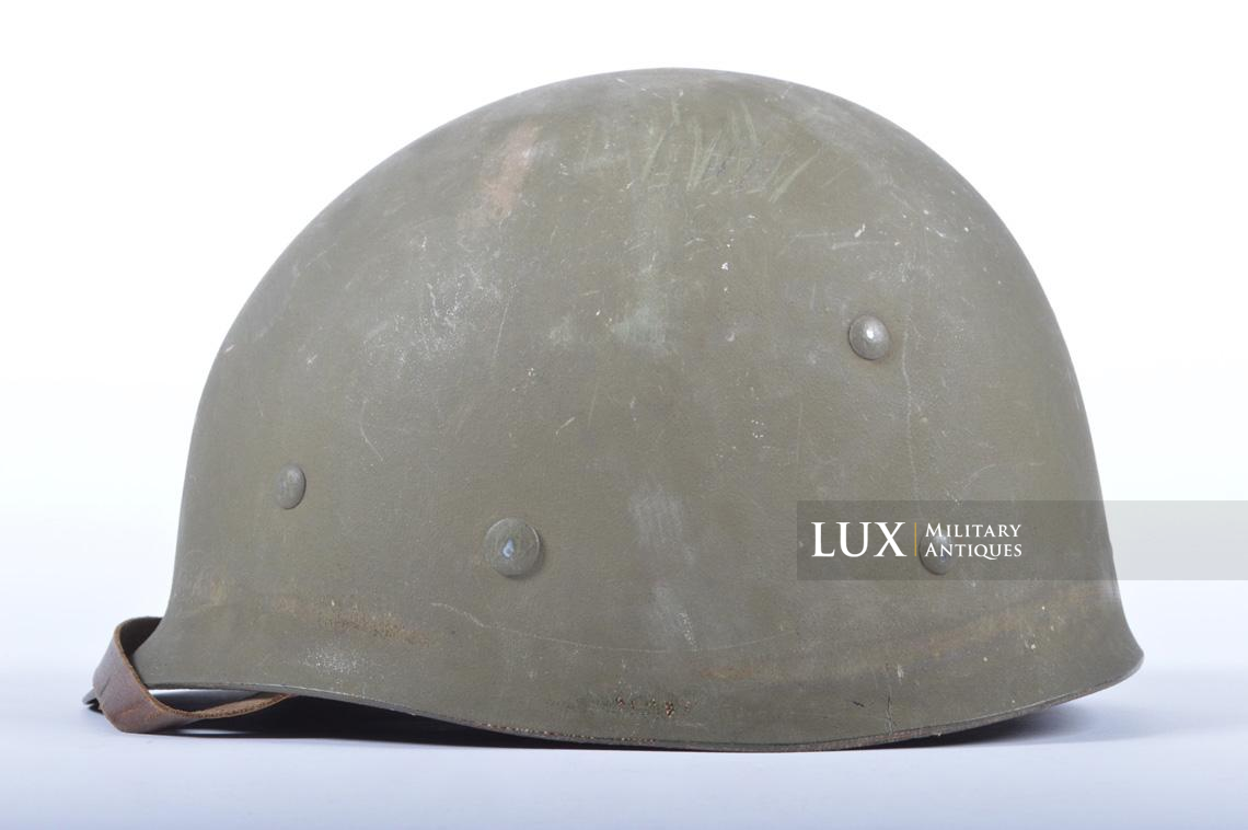 USM1 5th Infantry Division sawdust camouflage helmet set - photo 49