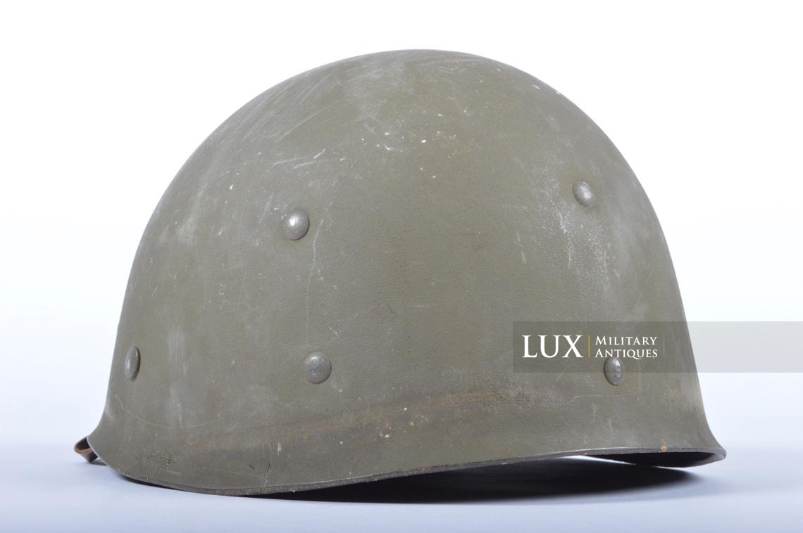 USM1 5th Infantry Division sawdust camouflage helmet set - photo 50