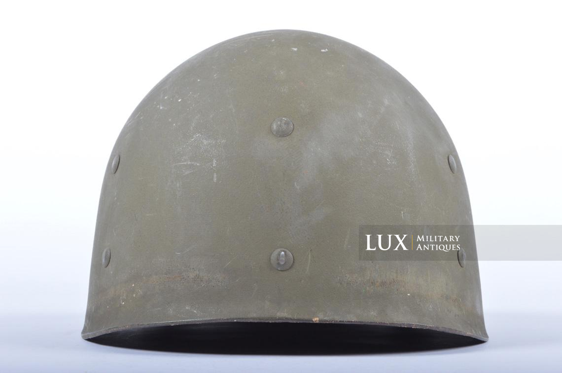 USM1 5th Infantry Division sawdust camouflage helmet set - photo 51