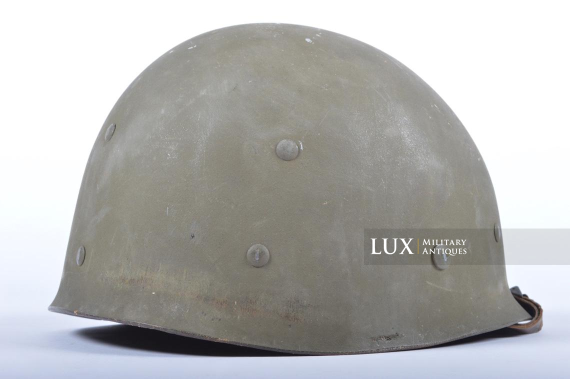 USM1 5th Infantry Division sawdust camouflage helmet set - photo 52
