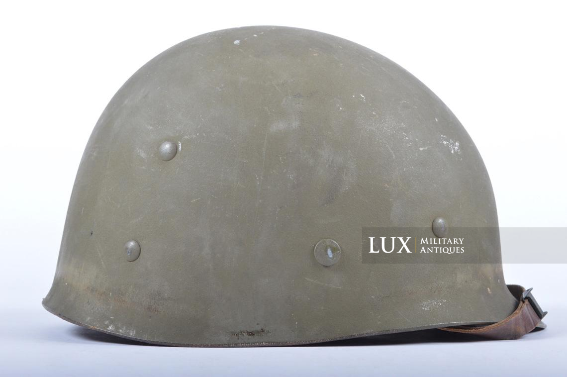 USM1 5th Infantry Division sawdust camouflage helmet set - photo 53