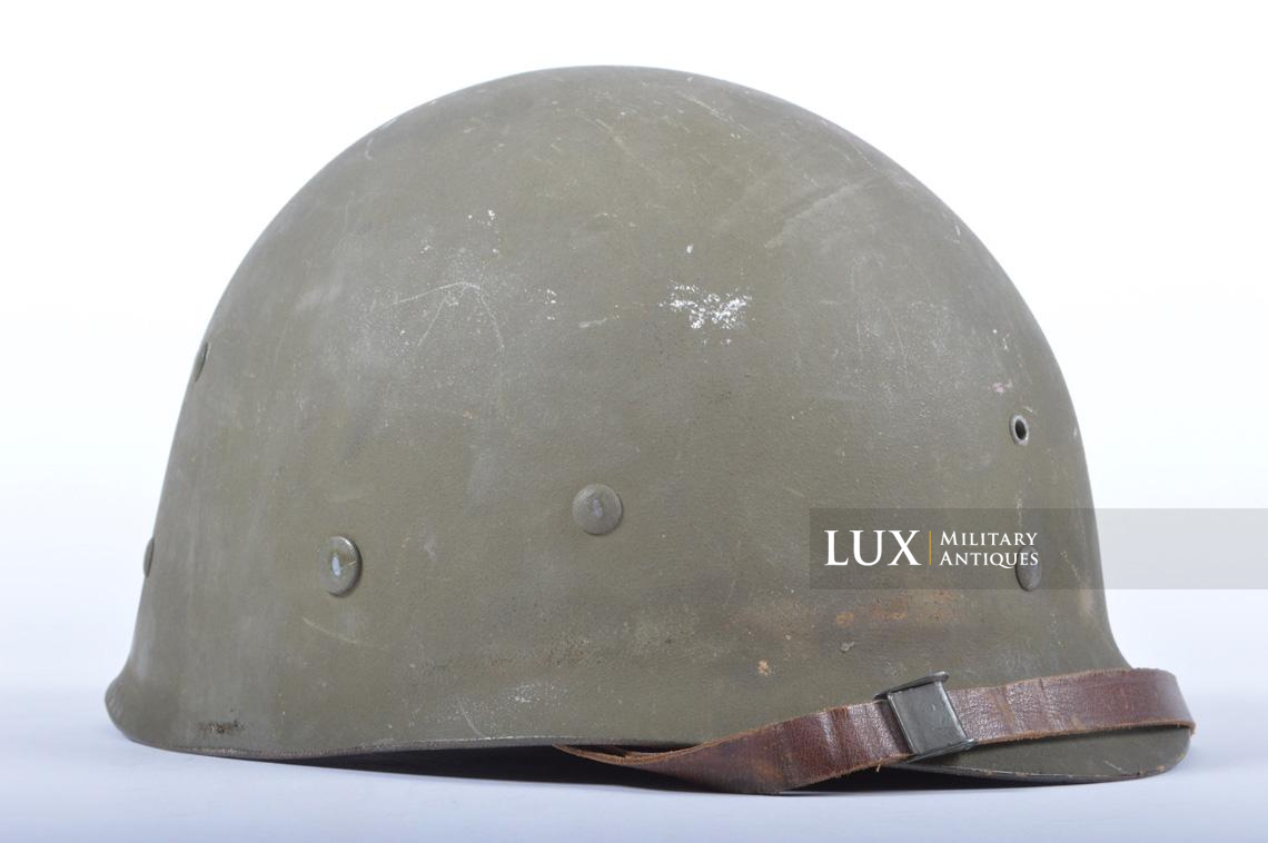 USM1 5th Infantry Division sawdust camouflage helmet set - photo 54