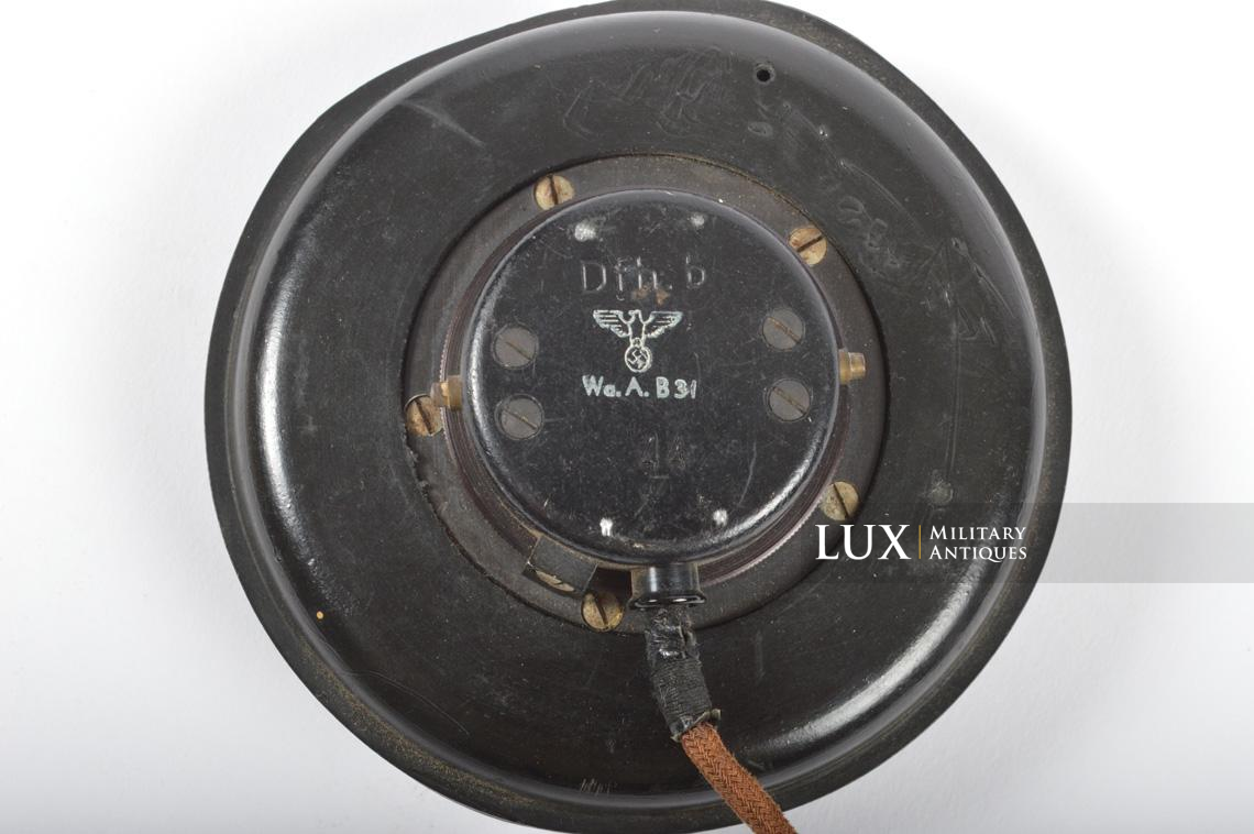 Unissued German Panzer/Armored headphones, « DFH.B 44 » - photo 14