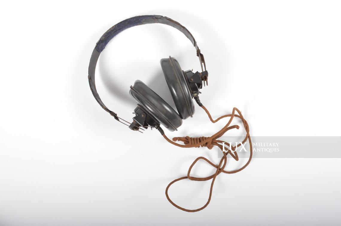 Unissued German Panzer/Armored headphones, « DFH.B 44 » - photo 9