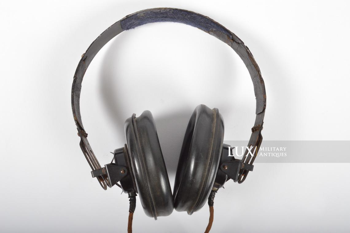 Unissued German Panzer/Armored headphones, « DFH.B 44 » - photo 10