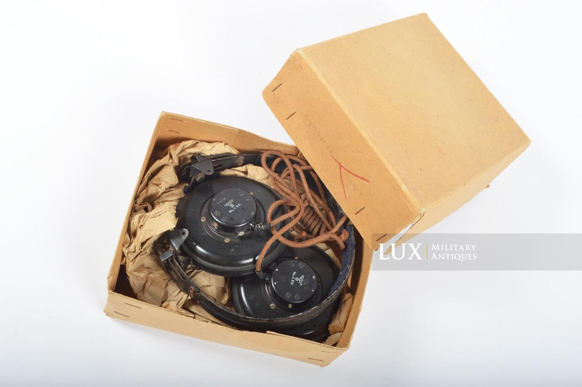 Unissued German Panzer/Armored headphones, « DFH.B 44 » - photo 4