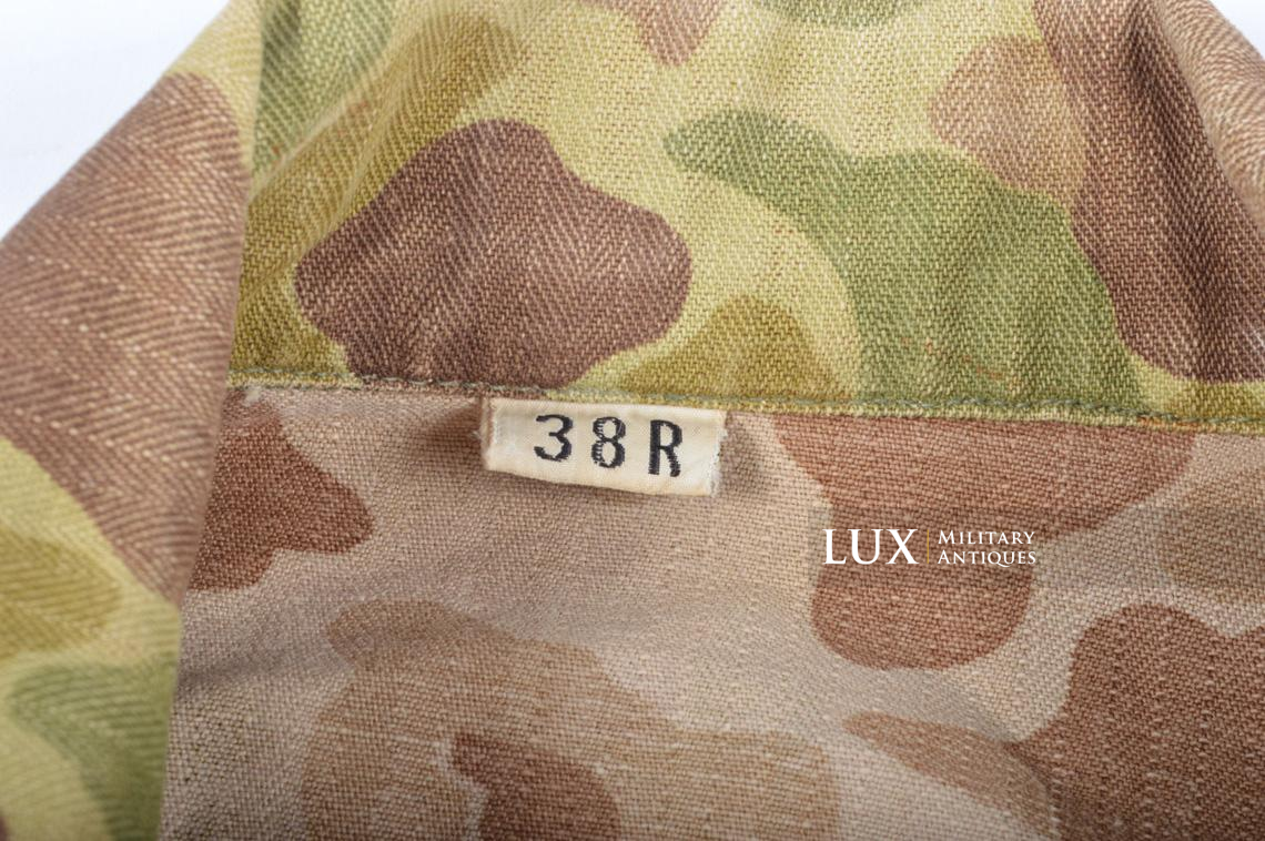 US Army « HBT » camouflage jacket, « 38R » - photo 14