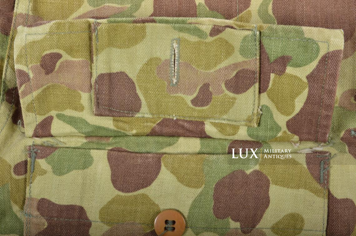 US Army « HBT » camouflage jacket, « 38R » - photo 15
