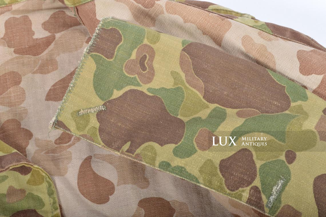 US Army « HBT » camouflage jacket, « 38R » - photo 23