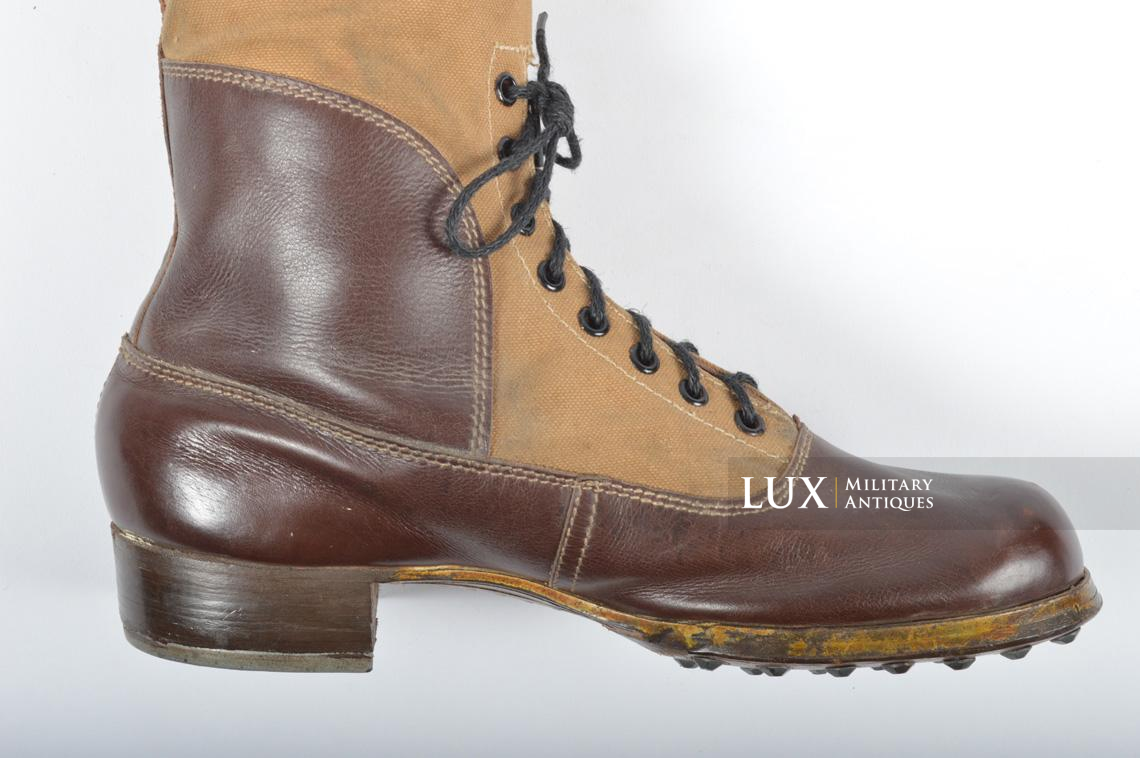 Unissued Luftwaffe tropical combat boots - photo 16
