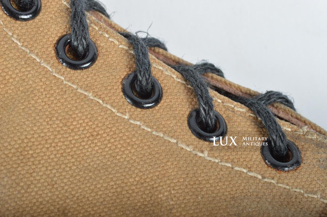 Unissued Luftwaffe tropical combat boots - photo 20