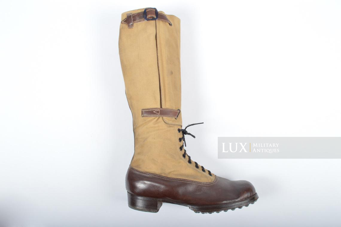 Unissued Luftwaffe tropical combat boots - photo 25