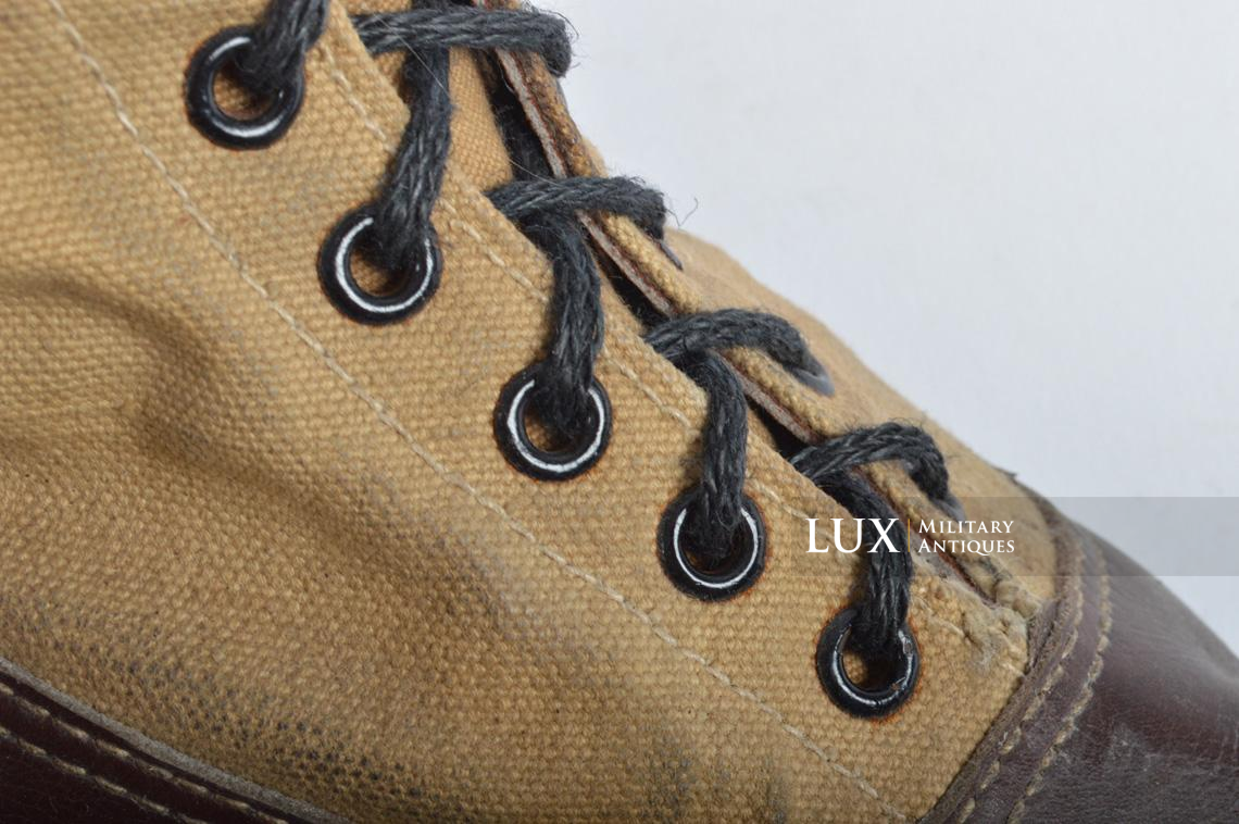 Unissued Luftwaffe tropical combat boots - photo 32