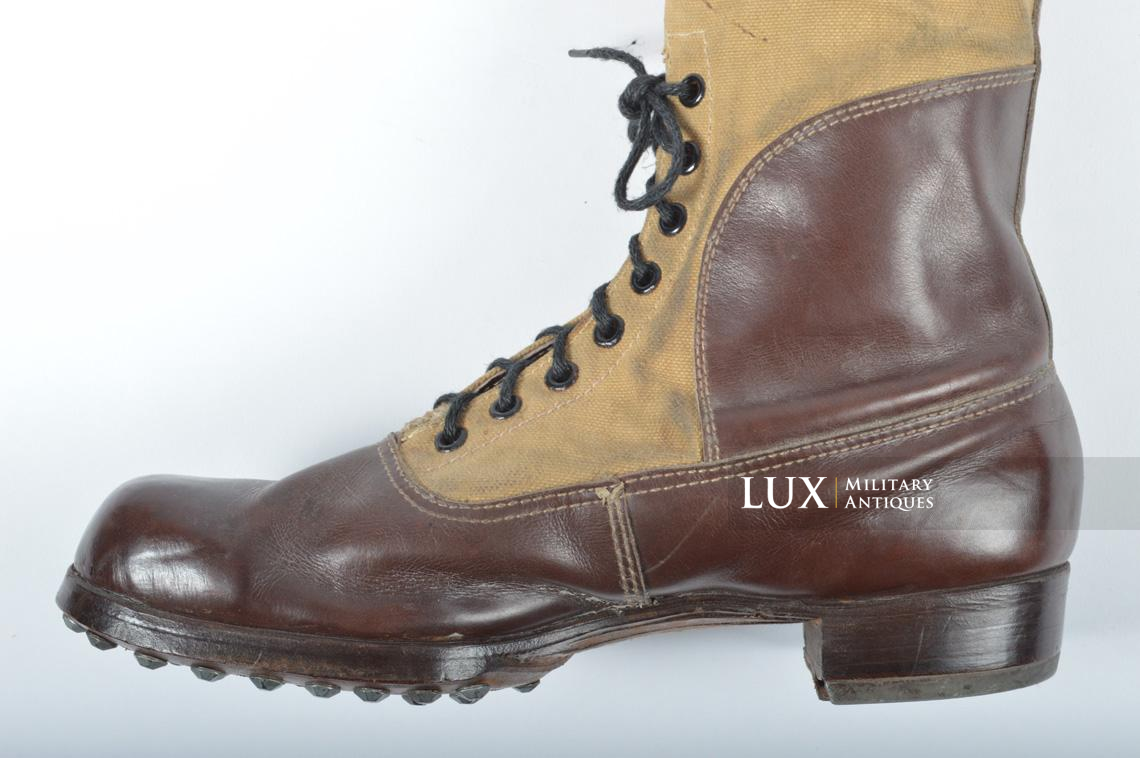 Unissued Luftwaffe tropical combat boots - photo 34