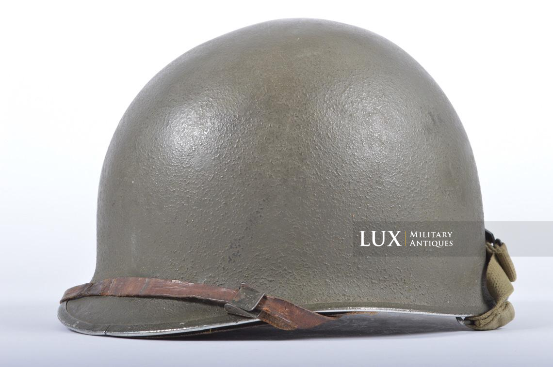 USM1 35th Infantry Division combat helmet and liner - photo 8