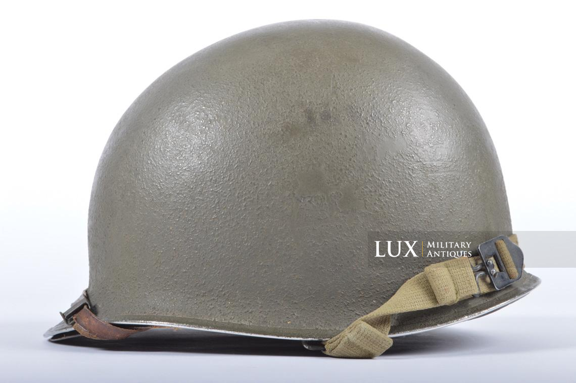 USM1 35th Infantry Division combat helmet and liner - photo 9