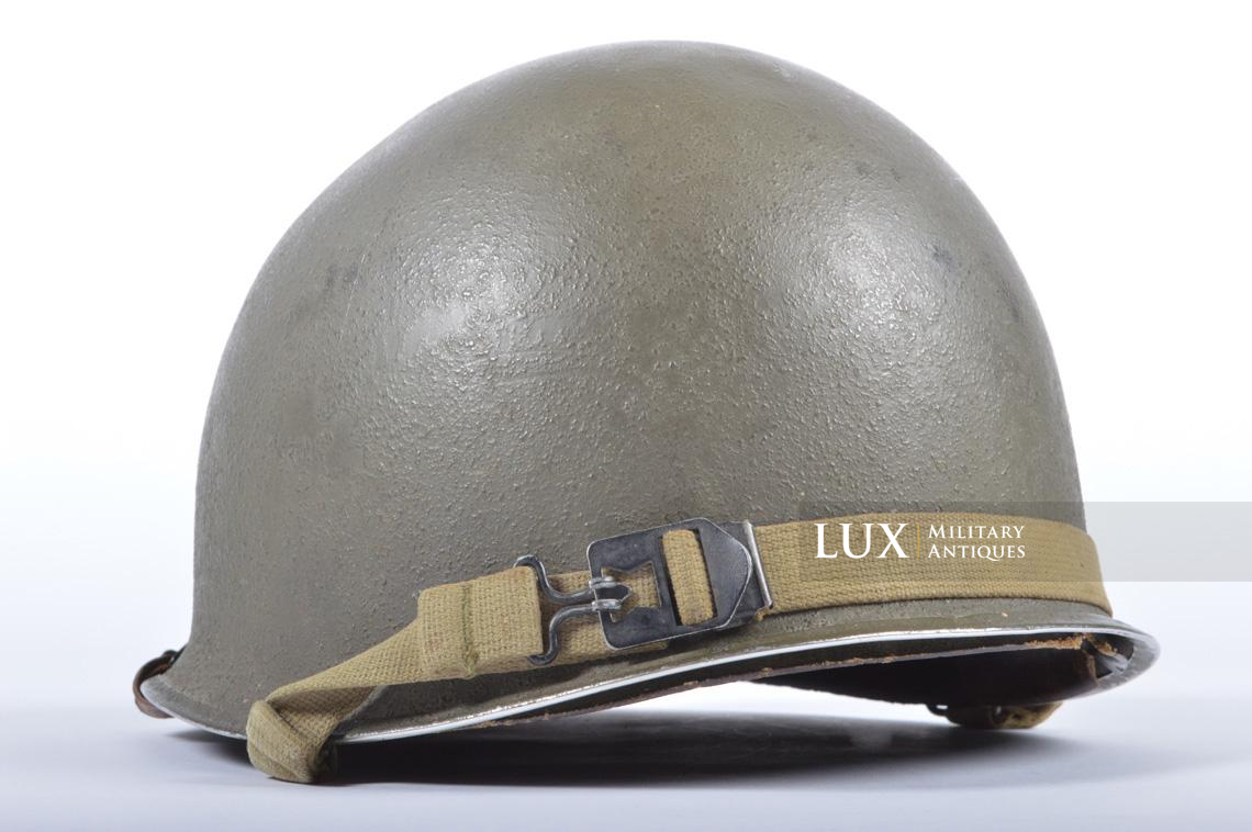 USM1 35th Infantry Division combat helmet and liner - photo 10