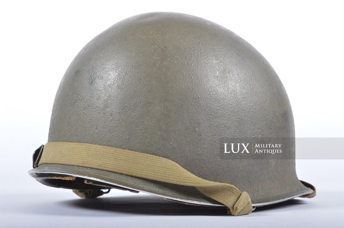 USM1 35th Infantry Division combat helmet and liner - photo 12