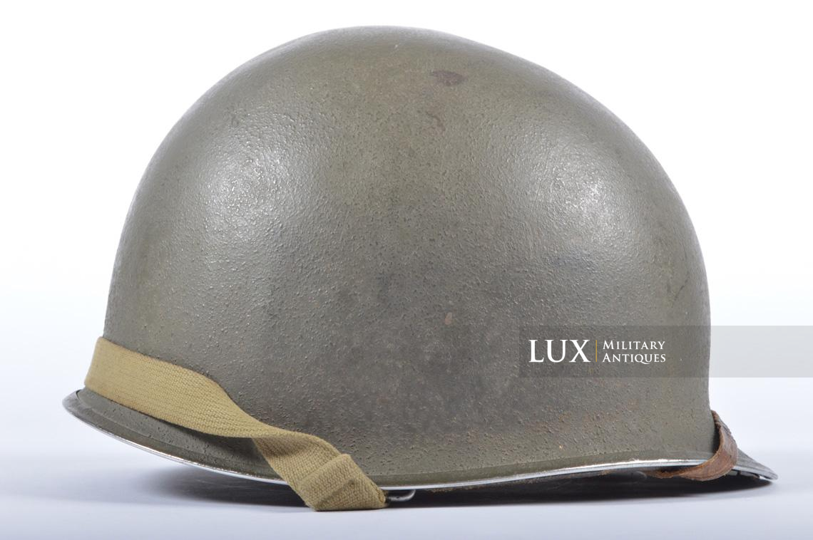 USM1 35th Infantry Division combat helmet and liner - photo 13