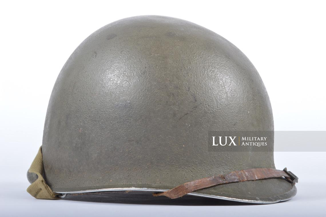 USM1 35th Infantry Division combat helmet and liner - photo 14
