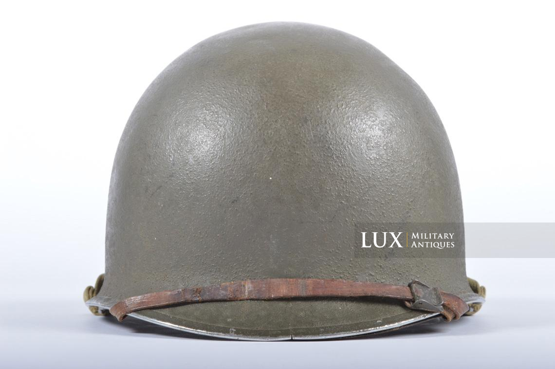 USM1 35th Infantry Division combat helmet and liner - photo 15