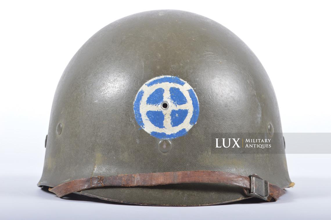 USM1 35th Infantry Division combat helmet and liner - photo 27