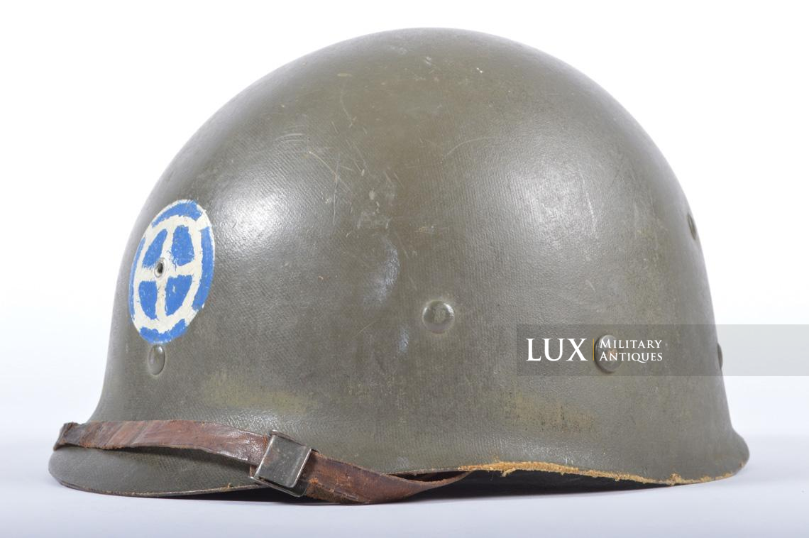 USM1 35th Infantry Division combat helmet and liner - photo 28