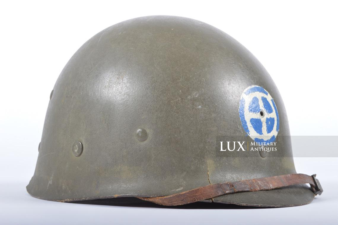 USM1 35th Infantry Division combat helmet and liner - photo 34