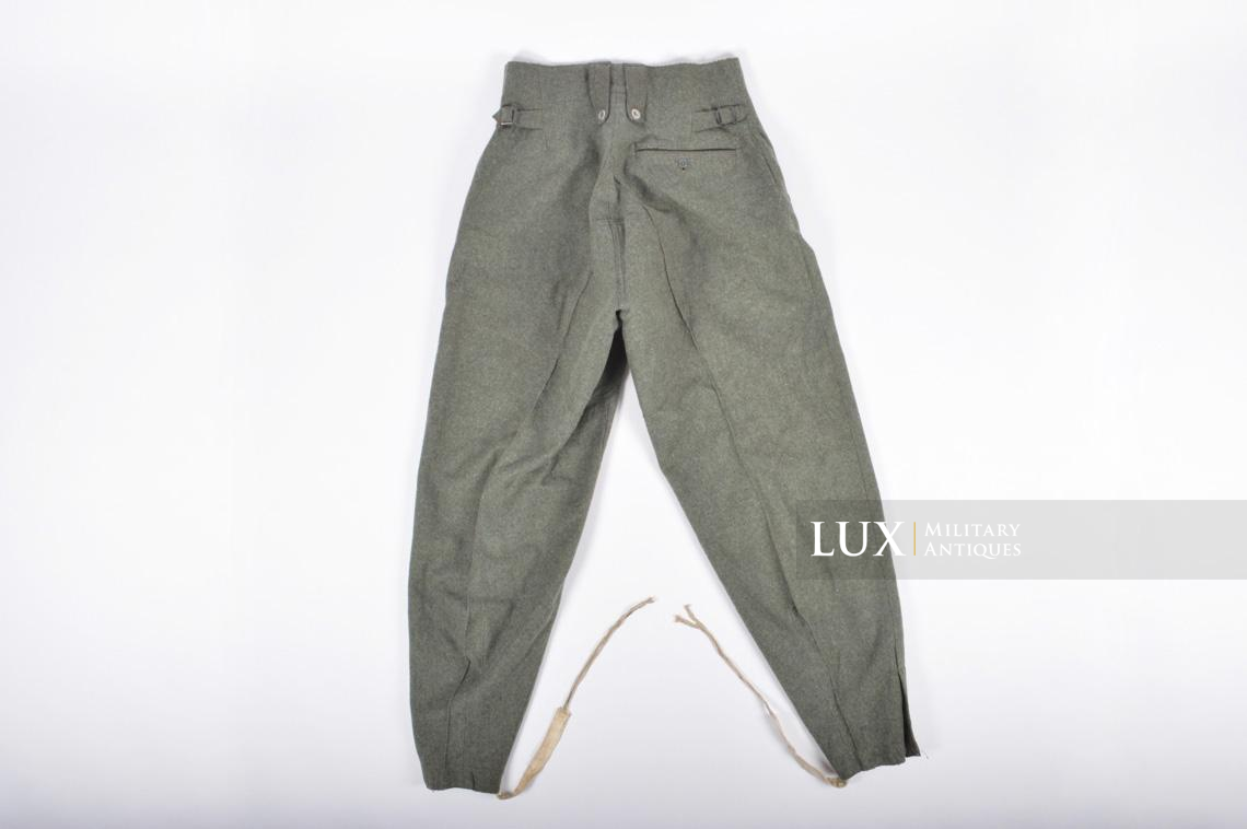 Unissued Heer/Waffen-SS M43 combat trousers, « Keilhose » - photo 16