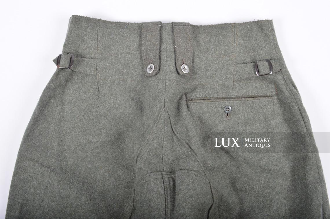 Unissued Heer/Waffen-SS M43 combat trousers, « Keilhose » - photo 17