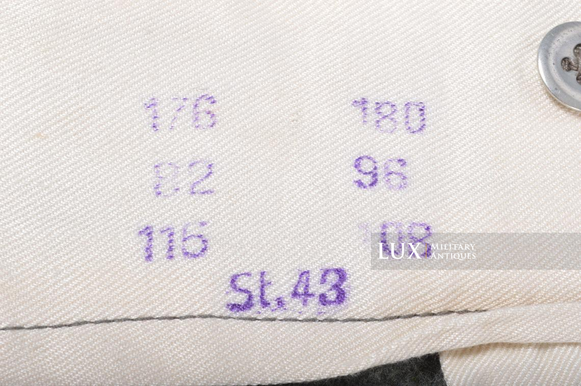 Unissued Heer/Waffen-SS M43 combat trousers, « Keilhose » - photo 21