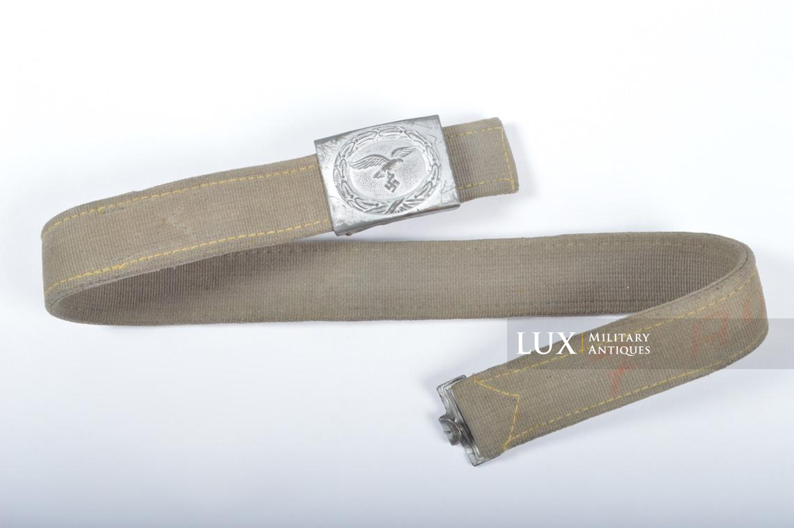 Late-war German Luftwaffe web combat belt set - photo 4
