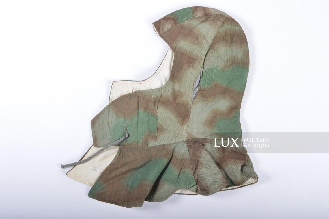 German « Fluffy » camouflage winter/reversible to white hood - photo 4