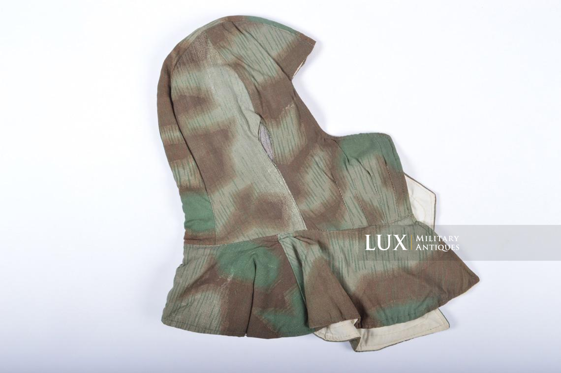 German « Fluffy » camouflage winter/reversible to white hood - photo 11