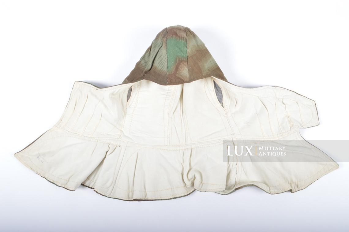 German « Fluffy » camouflage winter/reversible to white hood - photo 13