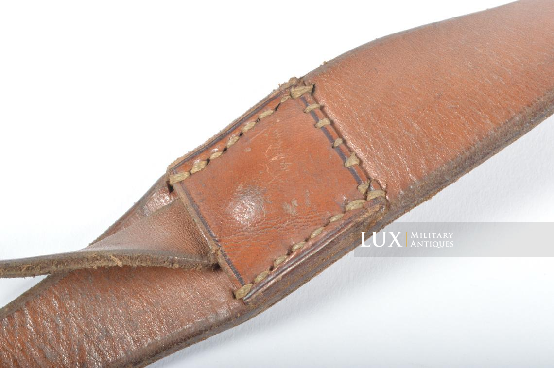 Unissued early-war German combat Y-straps, « 1939 » - photo 20