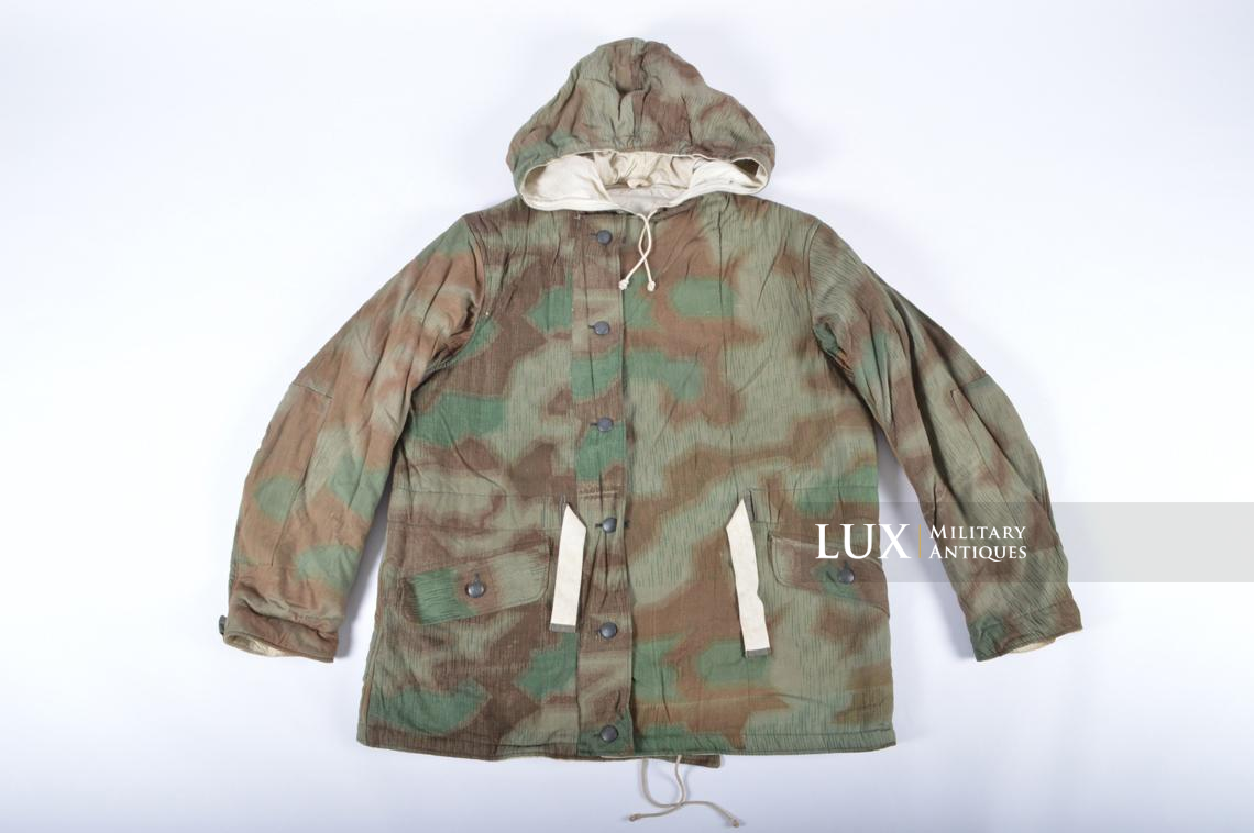 German « Fluffy » pattern camouflage reversible parka - photo 4