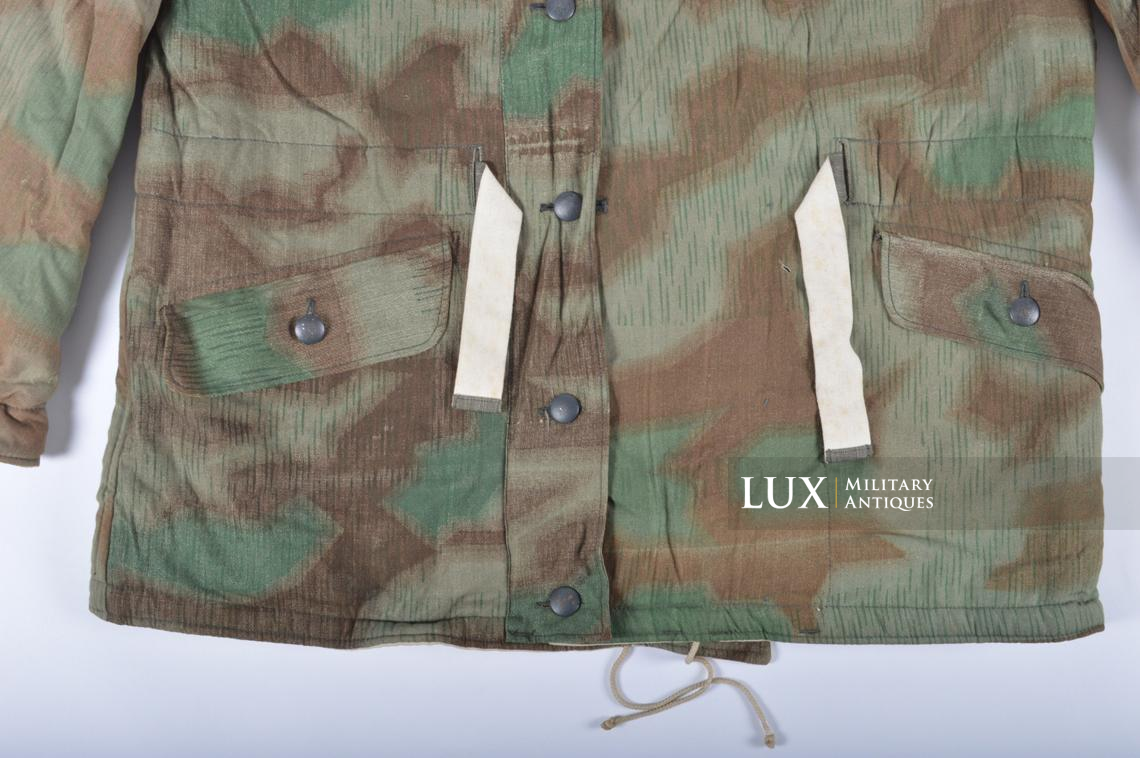 German « Fluffy » pattern camouflage reversible parka - photo 8