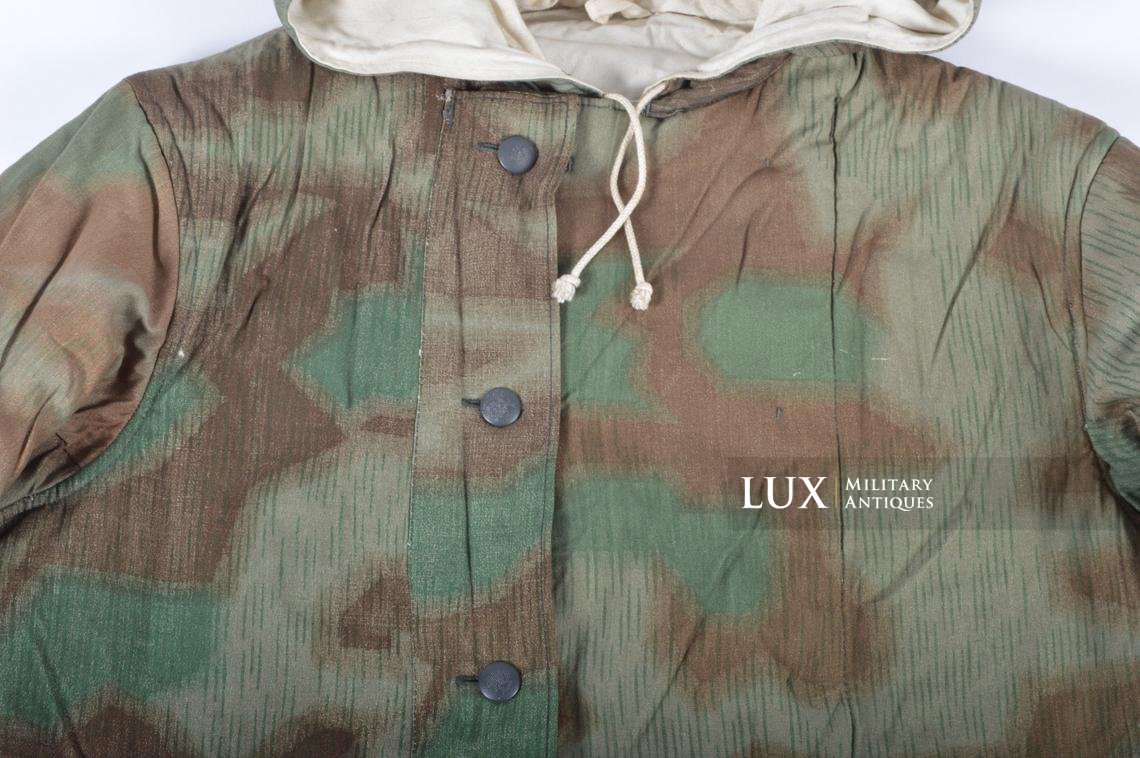 German « Fluffy » pattern camouflage reversible parka - photo 9