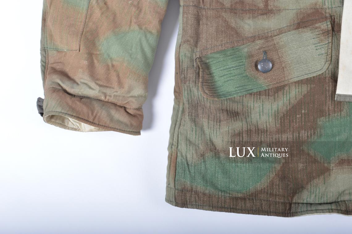 German « Fluffy » pattern camouflage reversible parka - photo 10