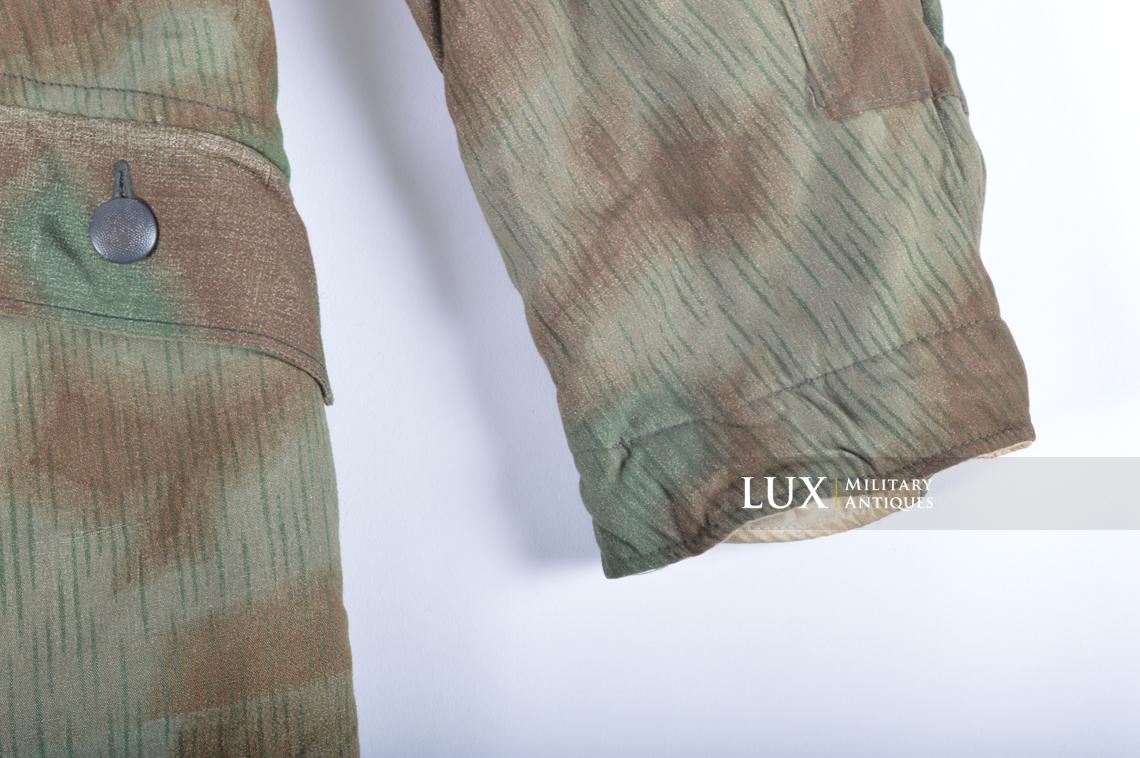 German « Fluffy » pattern camouflage reversible parka - photo 11