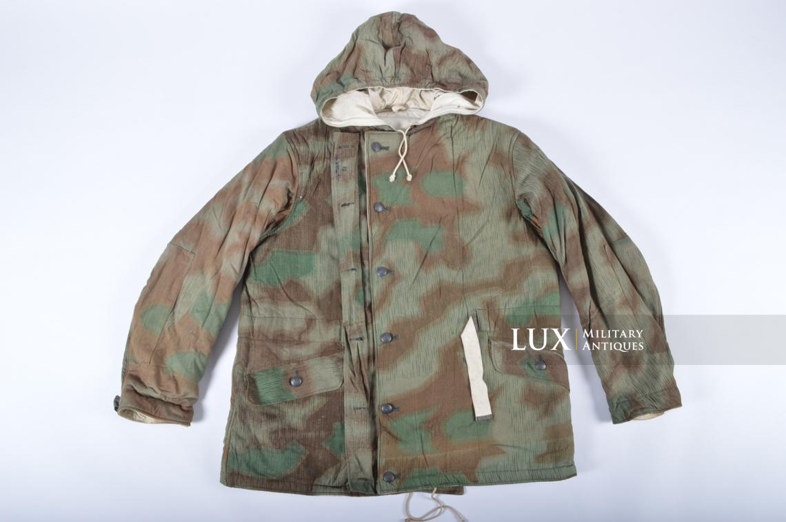 German « Fluffy » pattern camouflage reversible parka - photo 14