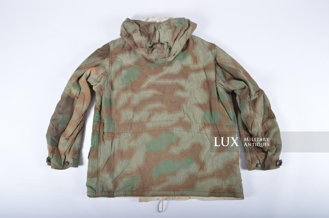 German « Fluffy » pattern camouflage reversible parka - photo 16